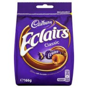 Cadbury Chocolate Eclairs 166g