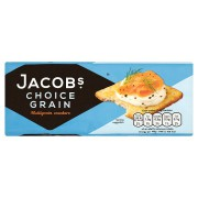 Jacobs Choice Grain Crackers 200g