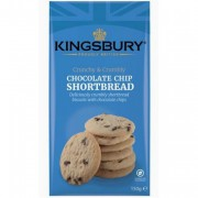 Kingsbury Chocolate Chip Shortbread 150g
