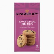 Kingsbury Butter Sultana Biscuits 150g