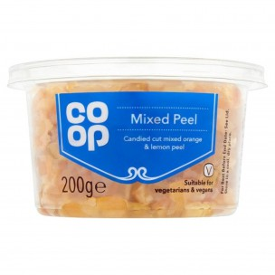 Co Op Mixed Peel 200g