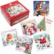 Christmas Cards x 20 Various Designs