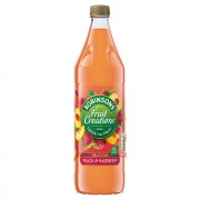 Robinsons  Creations Peach & Raspberry 1L
