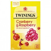 Twinings Cranberry and Raspberry Tea 40g