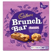Cadbury Brunch Bar with Raisins (6 pack) 200g