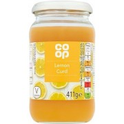 Co Op Lemon Curd 411g