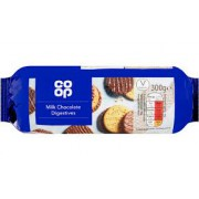Co Op Digestives con Chocolate 300g