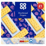 Co Op Shortbread Fingers 380g