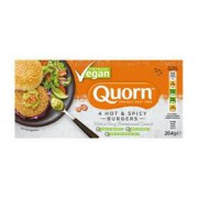 Quorn Hot and Spicy Vegan Burgers 264g