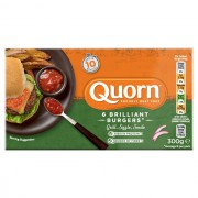 Quorn Meat Free Burgers 300g