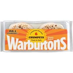 Warburtons 6 Crumpets 330g