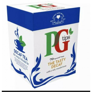 PG Tips Decaffeinated 70 Teabags 203g
