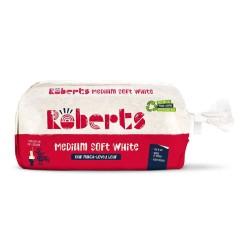 Roberts Pan de Molde Blanco Medio 800g