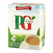 PG Tips 240 Teabags 696g