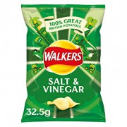 Walkers Salt and Vinegar Crisps 32.5g