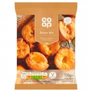 Co Op Pancake & Batter Mix 128g