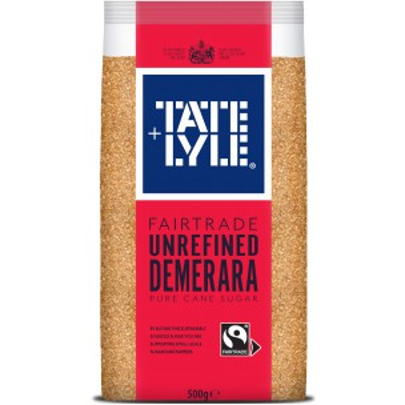 Tate & Lyle Unrefined Demerara Sugar 500g