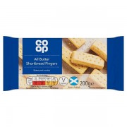 Co Op Shortbread Fingers 200g