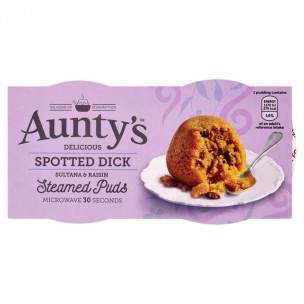 Auntys Spotted Dick 190g