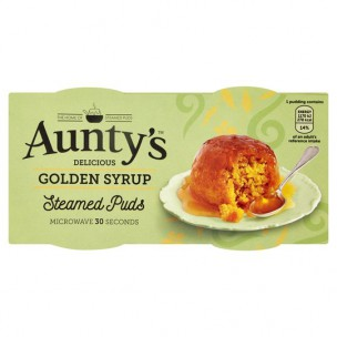 Auntys Golden Syrup Pudding 190g