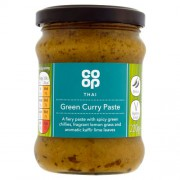 Co Op Pasta de Curry Verde Tailandés 220g