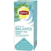 Liptons Balance Green Tea & Mint 40g