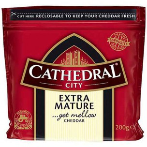 Cathedral City Extra Mature Cheddar Cheese 200g