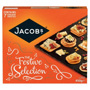 Jacobs Christmas Crackers Selection 450g
