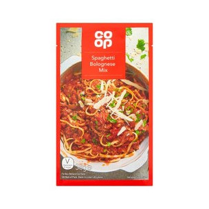 Co Op Spaghetti Bolognese Mix 38g
