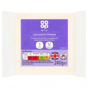 Co Op Lancashire Cheese 240g