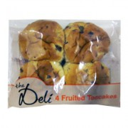 Deli Bakery 4 Fruited Teacakes 240g