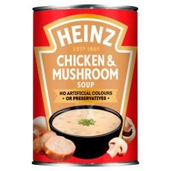 Heinz Cream of Chicken & Mushroom Soup 400g
