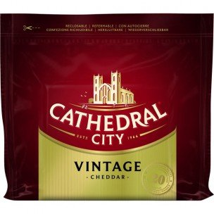 Cathedral City Vintage Cheddar Cheese 200g