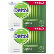 Dettol Soap Bars Twin Pack