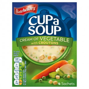Batchelors Cup a Soup Cream of Vegetable 122g