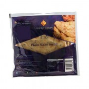 Leicester Bakery Plain Naan Bread 3 pack